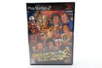 Used PS2 Wrestle Kingdom 2: Pro Wrestling Sekai Taisen Japan Import F/S