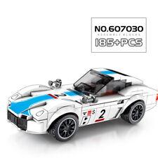185pcs 1:32 Toyoto GT2000 Sport Car Racer Speed Champion City Legoing Bricks Toy