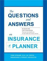 The Questions and Answers on Insurance Planner (Paperback or Softback)