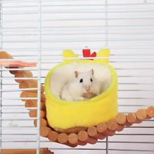 Small Animal Bed Pet Hammock Hamster Totoro Rat Guinea Pig House Nest Pad Sofa