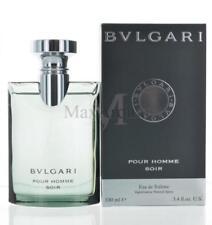 Bvlgari Pour Homme Soir By Bvlgari For Men   Eau De Toilette 3.4 OZ 100 ML Spray