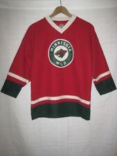Minnesota Wild Zach Parise hockey jersey kids boys XL 16/18 red
