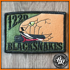 A-10 Warthog 122d Fighter Wing BLACKSNAKES Subdued Deployment Patch