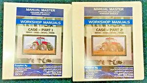 Case MX100 MX110 MX120 MX135 Service Workshop Manual,Fully Printed,Free Postage
