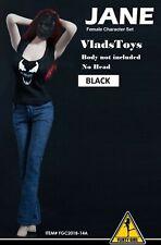 Flirty Girl 1/6 Fashion Set Jane Venom t-shirt & jeans FGC2018-14B