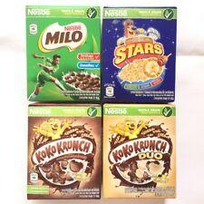 Nestle whole grain wheat breakfast cereal foods koko krunch duo milo honey stars