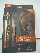 Tommie Copper Knee Brace Compression Sleeve Joint Pain Relief L/xl D19