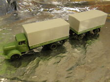 ** Herpa 298339 MB L311 Canvas Trailer Bertgem 1:87 HO Scale