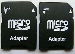 MICRO SD SDHC MEMORY CARD ADAPTOR ADAPTER CONVERTER TO STANDARD SD *~UK STOCK~*