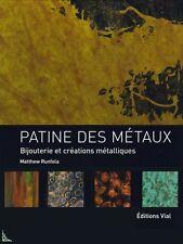 Patine des métaux, Bijouterie et créations métalliques
