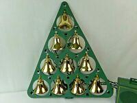 Mr Christmas Bells of Christmas Lighted Musical Bells 10 brass bells 15 Songs