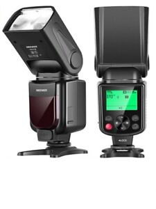 Neewer NW645-N TTL GN58 Camera Flash Speedlite HSS 1/8000s with LCD Display