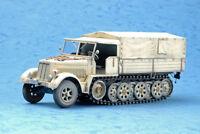GERMAN Sd.Kfz.7 MITTLERE ZUGKRAFTWAGEN 8T KM.II 1/35 tank Trumpeter model kit