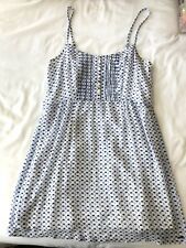Hollister by Abercrombie - White Light Blue Sun Dress XS + Fast Ship