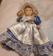 Porcelain Baby dressed Dolls House People Child Dolly 19cm