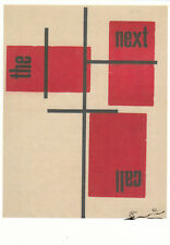 Postkarte: Hendrik Nicolaas Werkman - The Next Call 7  / 1926