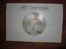 Prospetto SALES BROCHURE Oldsmobile 1975 Omega Toronado AUTO CAR автомобиль