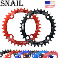 US 30-52T Crankset 104mm Narrow Wide Single MTB Bike Chainring BMX Sprockets