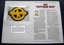1945 Ruptured Duck Cooperstown Collection Baseball Patch