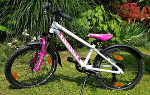 "Ghost Powerkid 20"" Mountainbike Gr. 27; Kinderrad; white/pink/pale pink"