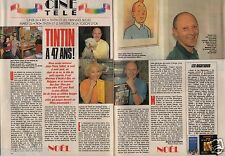 Coupure de presse Clipping 1990 Tintin à 47 ans Jean pierre Talbot (2 pages)