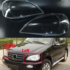 2x Scheinwerferglas Streuscheibe Abdeckung Für Mercedes-Benz ML Klasse W163 E8