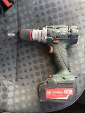 Metabo LTX Cordless 18v Hammer Drill Plus 4ah Battery