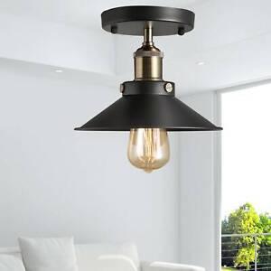 E27 Deckenlampe Hängeleuchte Schwarz Metall Draht Vintage Industrial Retro Lampe