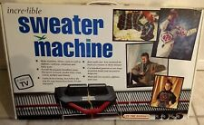 Bond Incredible Sweater Machine in Box + Acc's Included