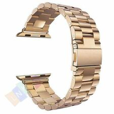 Classical Stainless Steel Metal Strap Wrist Band For Apple Watch Series 5 4 3 2