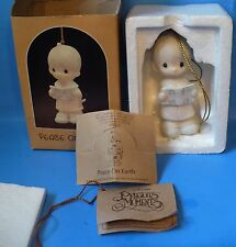Enesco Precious Moments 1984 Peace On Earth Figurine #E-5389 W/Box