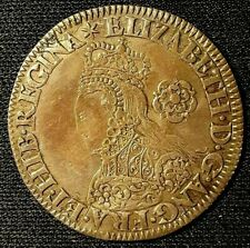 Elizabeth I Silver Milled Sixpence Coin England Rower 1562 Bust C O3/R2 S2595