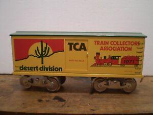 McCoy Standard Gauge TCA Desert Div. Boxcar