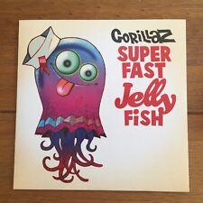 """Gorillaz - Super Fast Jelly Fish   7""""  Vinyl  Blur"""