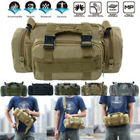 Military Tactical Backpacks Camping Pack Hiking Waist Outdoor Climbing Bags HOT