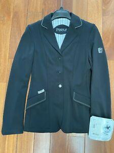 Pikeur Sarissa Ladies Competition Jacket - Black, Size US 4L