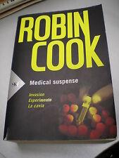 MEDICAL SUSPENSE: Invasion, Esperimento, La Cavia, di Robin Cook, S&K, 2008