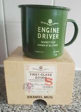 More details for engine driver enamel mug green harvey makin railway humour presentation box