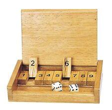 Goki HS185 - Würfelspiel - Shut the box