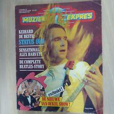 MUZIEK EXPRES NOV. 1975/ STATUS QUO/ TUBES/ LIMOUSINE/ALICE COOPER (72 PAGES)