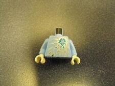 Lego Torso Torso Ninjago Ice Energy Pattern (NRG Zane) Minifgure #N1
