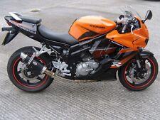 Hyosung GTR125/GT125 Comet Noir GP Pro Race Moto Échappement Peut