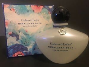 CRABTREE & EVELYN HIMALAYAN BLUE 3.4 OZ EDT NIB DISCONTINUED RARE