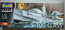 Revell 1/72 German Fast Attack Craft S-100 Class Model Kit 05162 *Bagged*