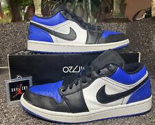 """Air Jordan 1 Low """"Royal Toe"""" - Men's Size 9.5 (CQ9446-400)"""