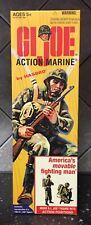 "Hasbro 12"" / 1/6Th Scale Gi Joe Action Marine Action Figure Loose Empty Box"
