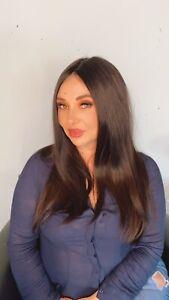 Wig Human Virgin European Hair One Donor Cuticle Aligned Medical Grip Cap