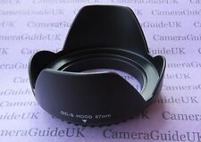 67mm Flower Screw Mount Lens Hood For Canon EF 70-300 F4-5.6 IS II USM Lens