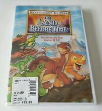 """The Land Before Time (DVD, 2003, Anniversary Edition) *DELIGHTFUL CLASSIC* """"NEW"""""""