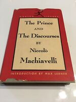 The Prince & The Discourses Machiavelli Modern Library Vintage 1950 Ed ShipsFree